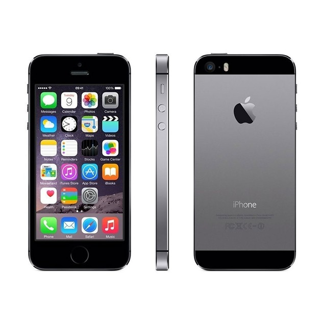 Apple iPhone 5S 16GB 4G LTE Verizon Unlocked,Space Gray(Refurbished)