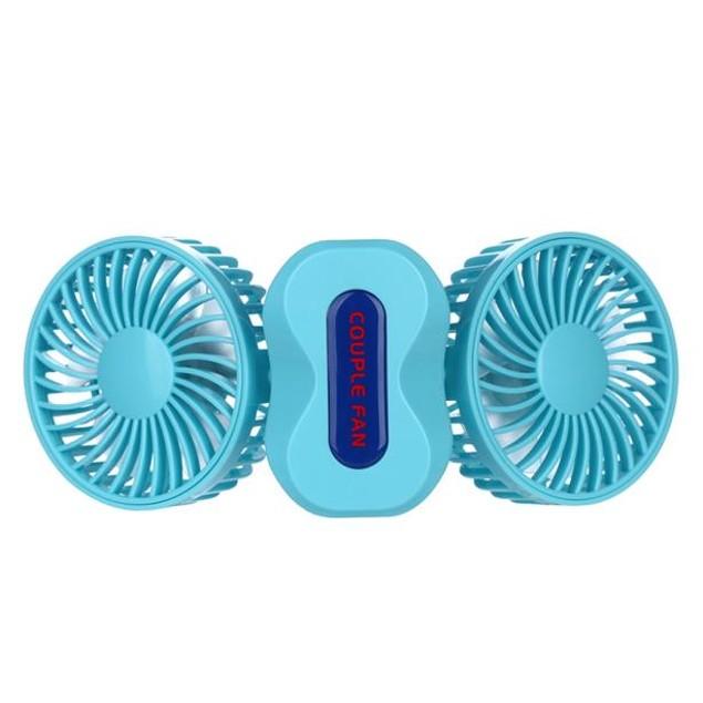 DWO Mini Small Fan Cooling Portable Desktop Dual Air Conditioner USB