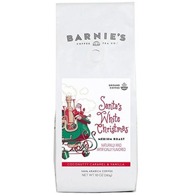 Barnie's Santa's White Christmas Ground Coffee