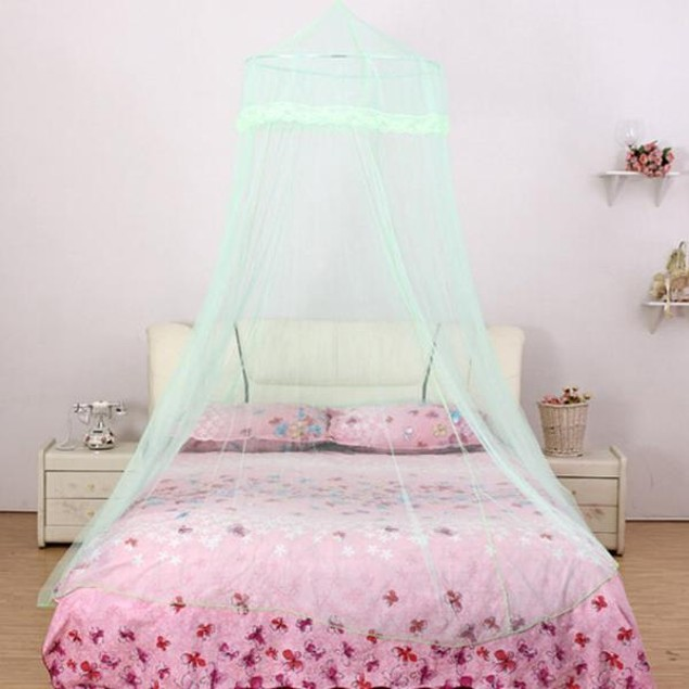 Dome Lace Mosquito Nets Indoor Outdoor Play Tent Bed Canopy
