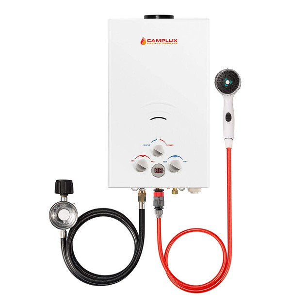 Reconditioned Camplux 16L 4.22 GPM Outdoor Portable Tankless Water Heater