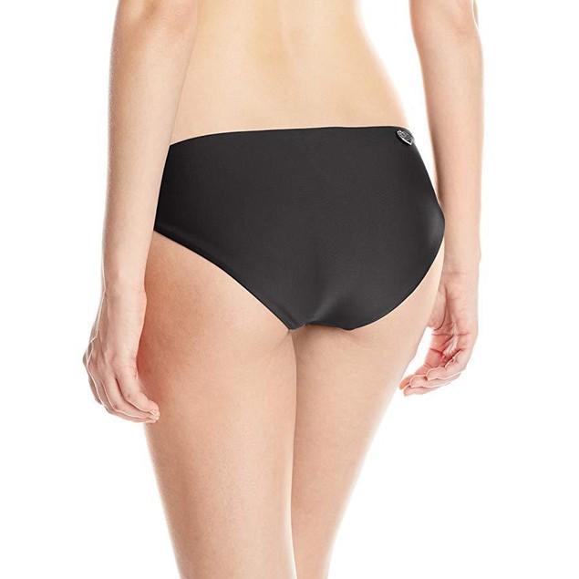 Body Glove Women's Smoothies Ruby Bikini Bottom, Black, Sz X-Small