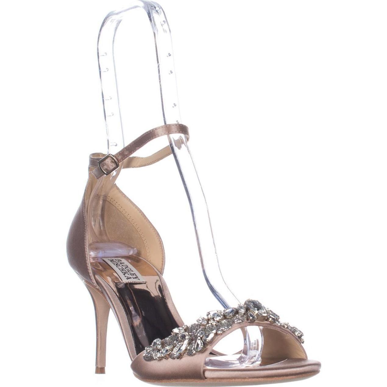 b6c33648b8e Badgley Mischka Bankston Ankle-Strap Dress Sandals