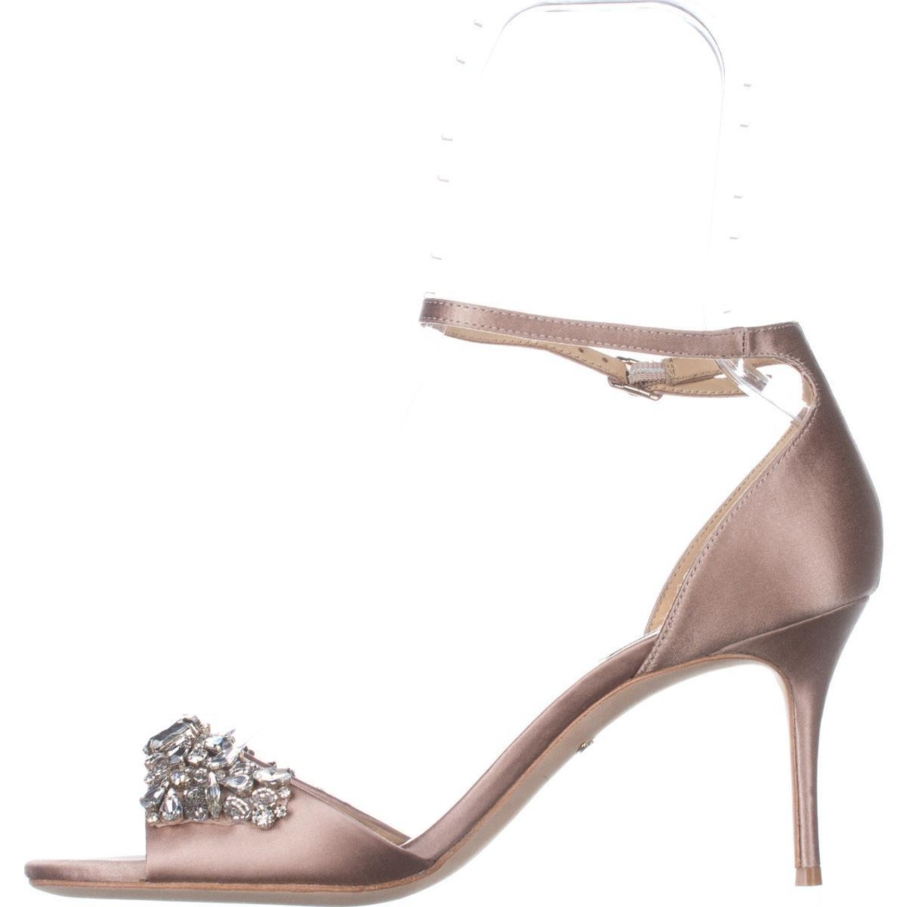 258f92448a6 ... Latte Badgley Mischka Bankston Ankle-Strap Dress Sandals