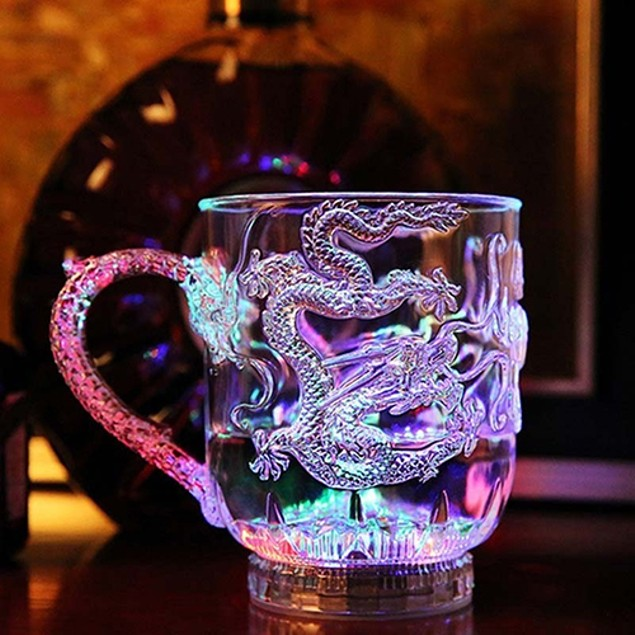 LED Flashing Color Change Water Activated Light Up Cup