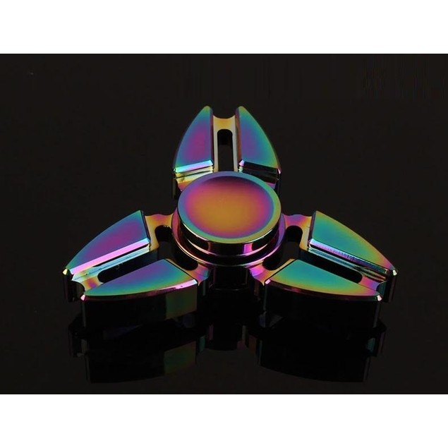 3-Sided Rainbow Fidget Spinner