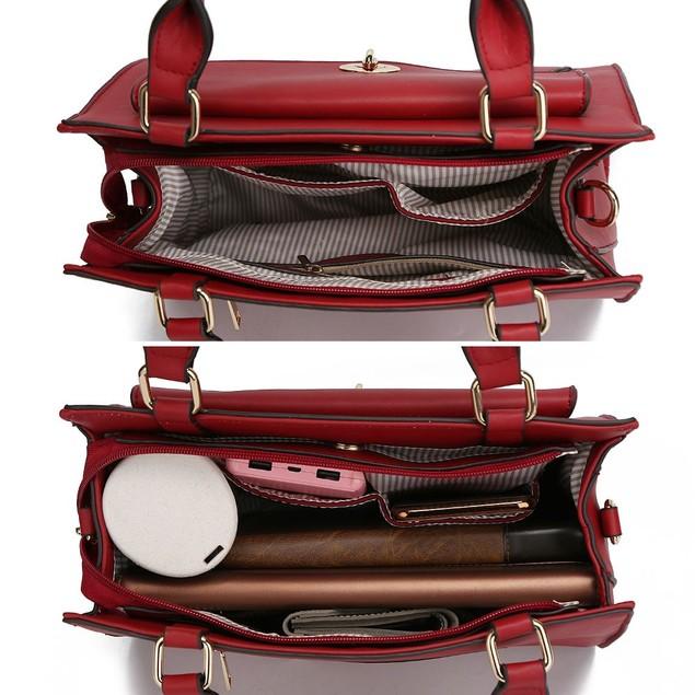 MKF Collection Katie Satchel Bag by Mia K.