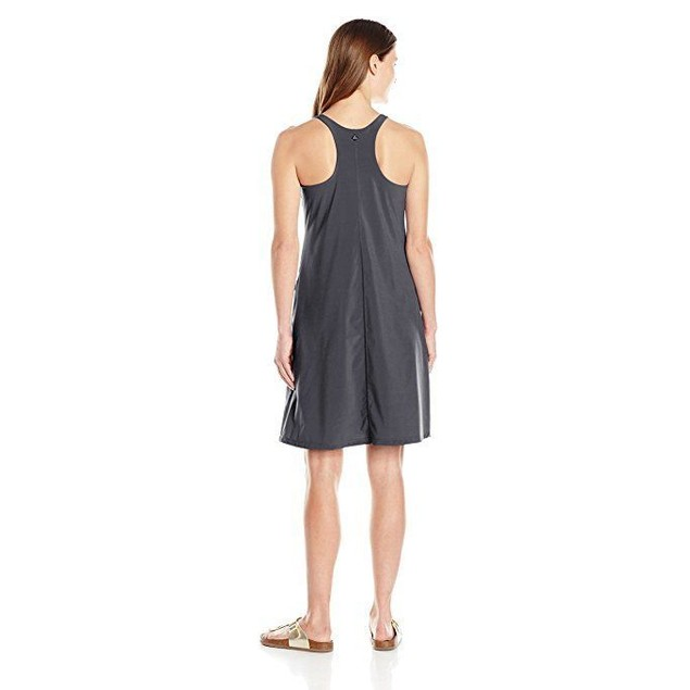 prAna Women's Barton Dress, Coal,  sz X-Small