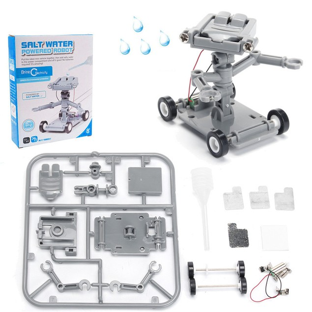 Salt Water Powered Robot Science Kit Stem
