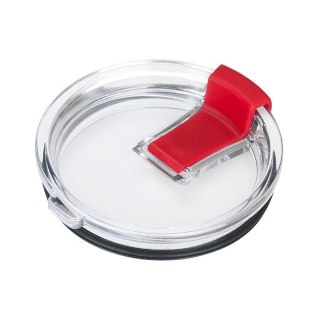 Spill And Splash Resistant Lid With Slider Closure For 30 Oz