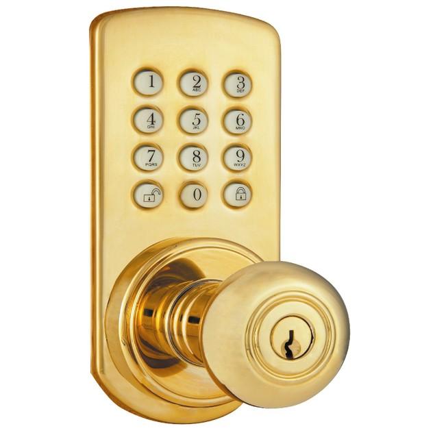 MiLocks Keyless Entry Knob Door Lock with Digital Keypad (PAKK-01P)