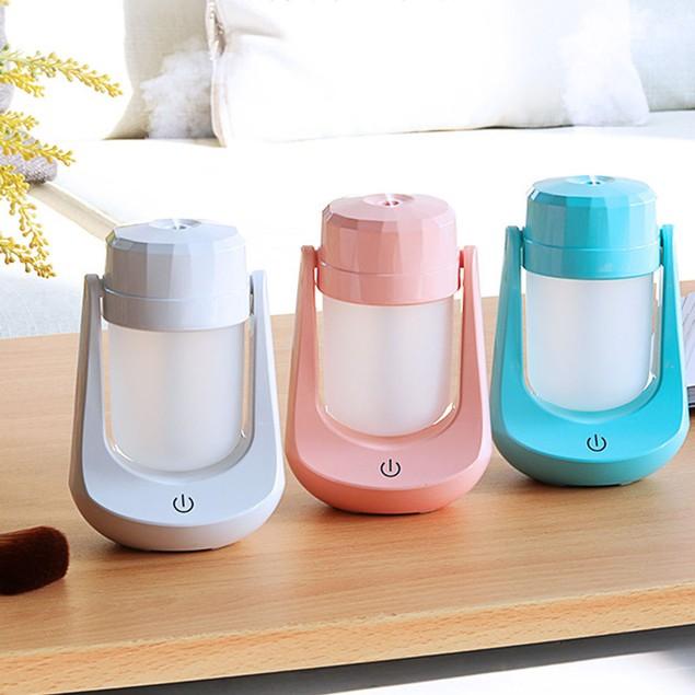 Mini Night Light LED Lamp Humidifier Air Diffuser Purifier Atomizer