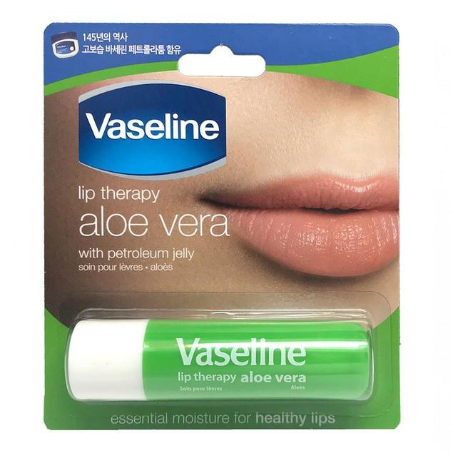Vaseline Lip Therapy Aloe Vera Lip Balm, 4.8 g