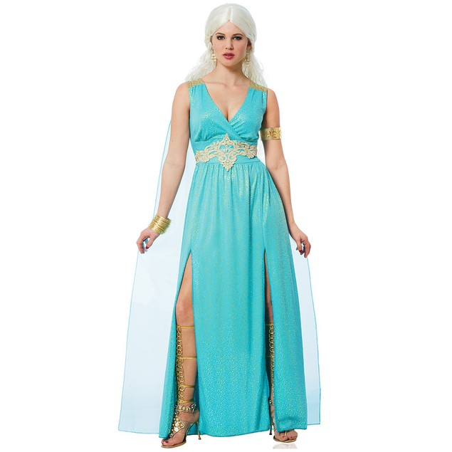 Daenerys Targaryen Qarth Womens Costume Game Of Thrones Queen Sexy Adult