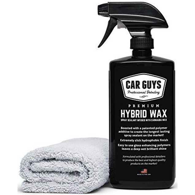 CarGuys Hybrid Wax Sealant  Most Advanced Top Coat Polish