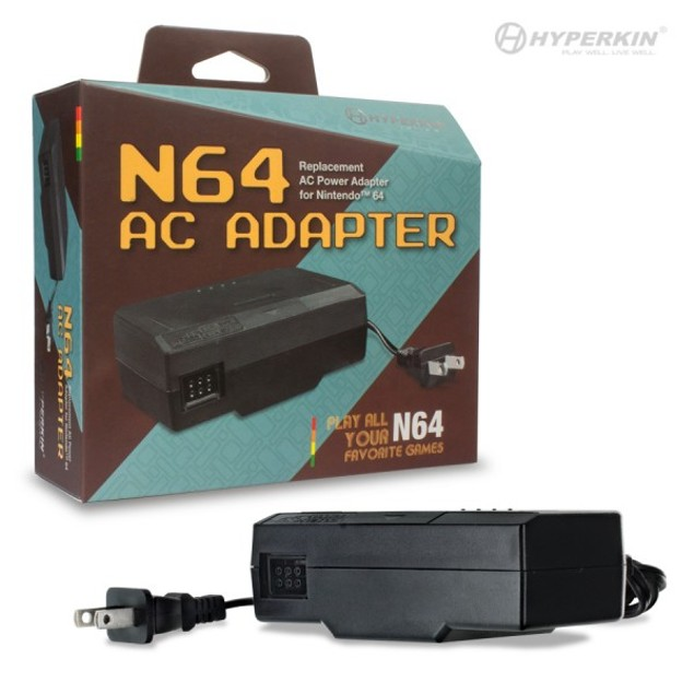 AC Adapter for N64 - Hyperkin