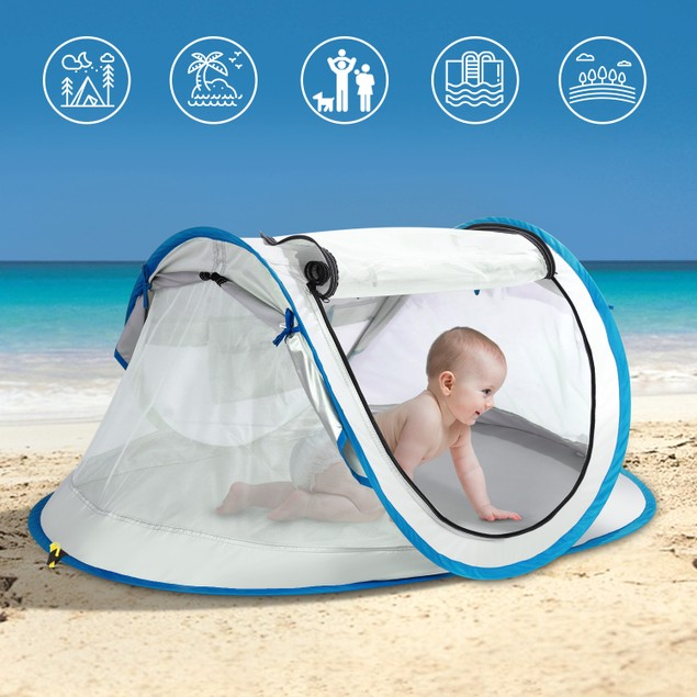 Baby Beach Tent, FINATE Baby Tent for Beach UPF 50+ & UV Protection
