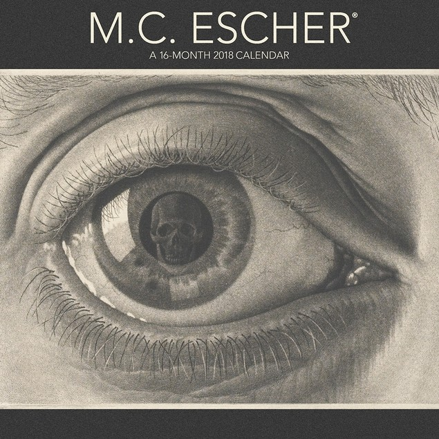 M.C. Escher Wall Calendar, Fantasy Art by Calendars