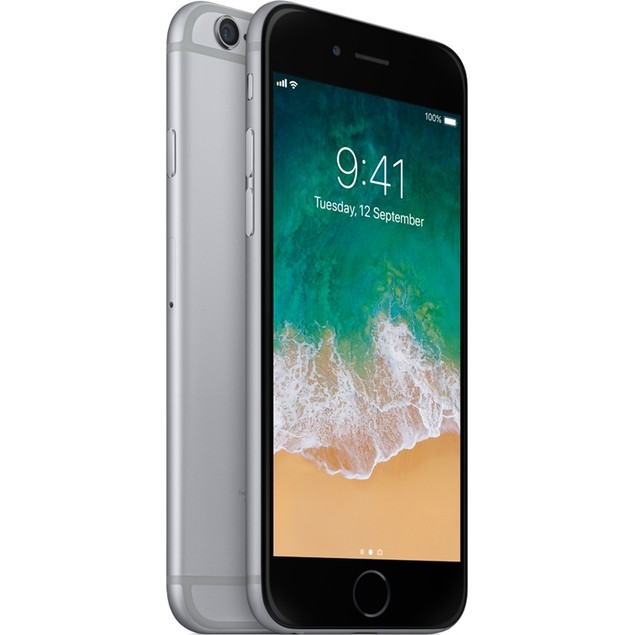 Apple iPhone 6 16GB 4G LTE/GSM Unlocked GSM iOS Unlocked,Space Gray(Refu