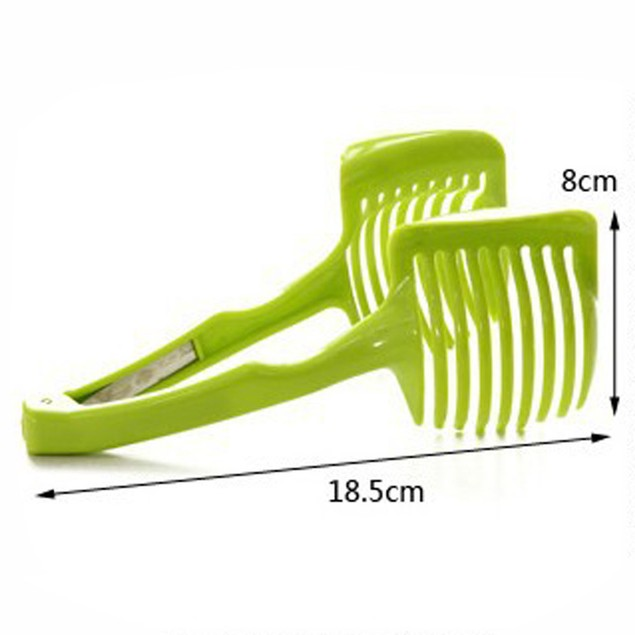 1pc Handheld Circular Lemon Tomato Slicer Kitchen Gadget
