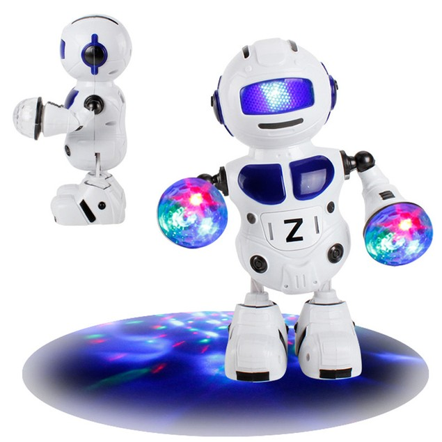 Electronic Walking Dancing Smart Bot Robot Astronaut Kids Music Light Toys