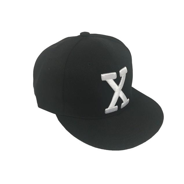 Malcolm X By Any Means Necessary Black Snapback Baseball Cap