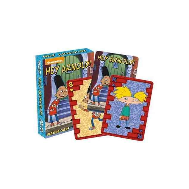 Hey Arnold Playing Cards