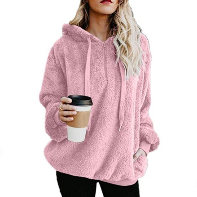 Plush Pullover Hoodie