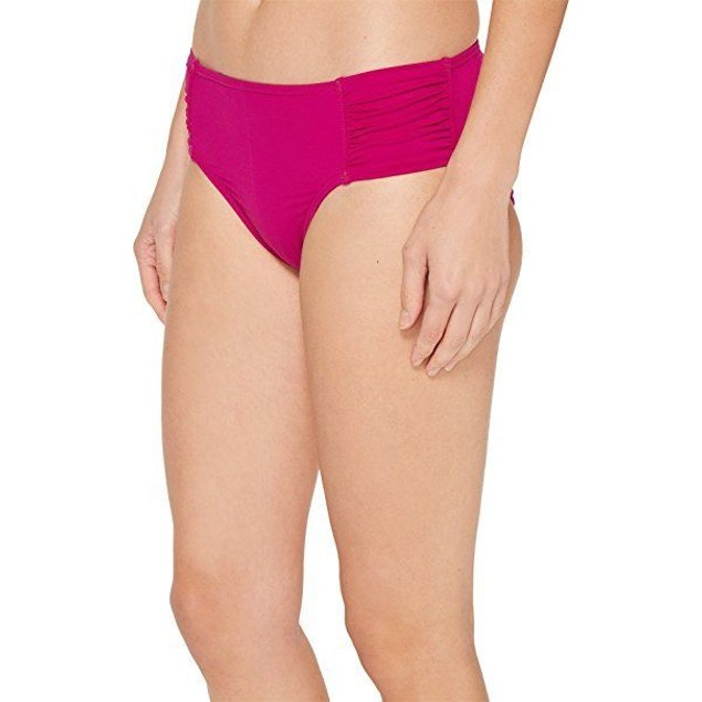 Tommy Bahama Women's Pearl High-Waist Side-Shirred Bottom Wild Orchid