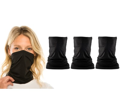 3-Pack Gaiter Face Cover Scarves Was: $24.99 Now: $13.99.
