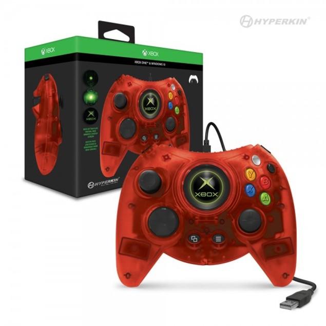 Hyperkin Duke Wired Controller for Xbox One/ Windows 10 PC (Red) Hyperkin