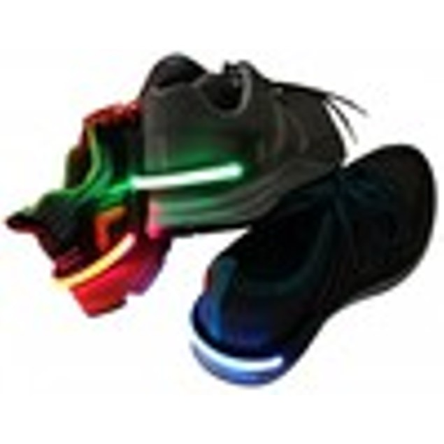 2 Pack LED Shoe Clip Lights Reflective Safety Night Running Gear