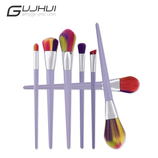 7PCS  Make Up Foundation  Blush Cosmetic Concealer Brushes 38