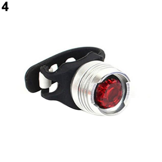 Bicycle LED Rear Tail Light 3 Modes Flashing Lamp