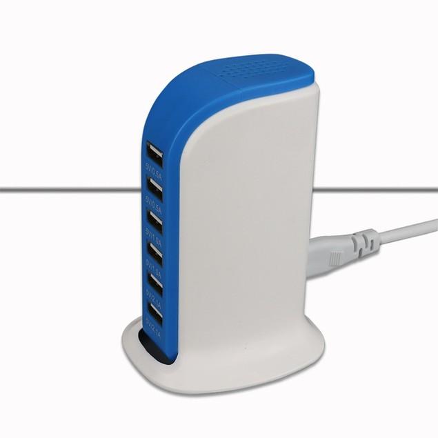 6-Port USB Fast-Charging Station