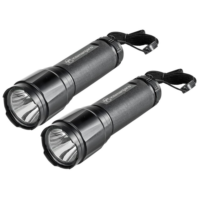 Kilimanjaro 2 Piece Tactical Flashlight Set Cree LED - 910080