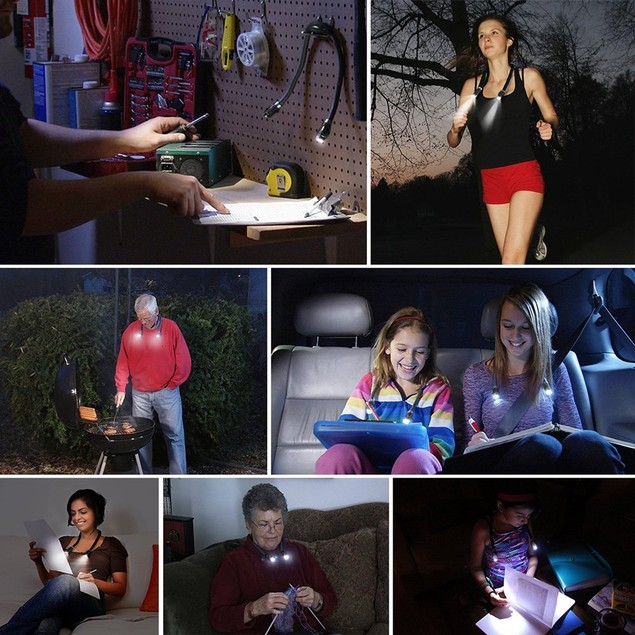 Hands-Free LED Neck Lamp