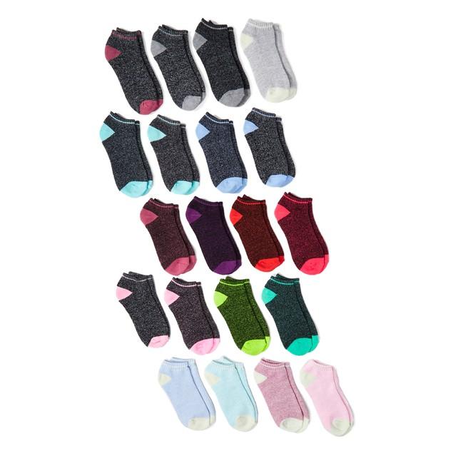 20 Pairs Women's Low Cut Thermal Socks