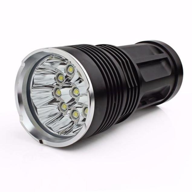 28000LM 11 x CREE XM-L T6 LED Hunting Flashlight 4 x 18650 Lamp Torch
