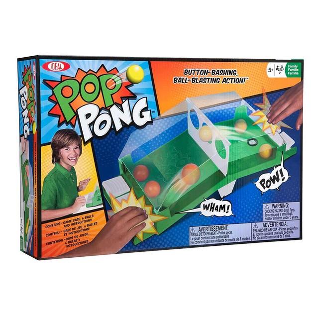 Pop Pong Tabletop Game, Desktop Games by Poof Slinky Inc.