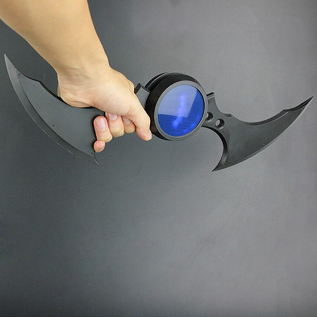 Comic Batman Arkham Knight Replica Action Figure Light
