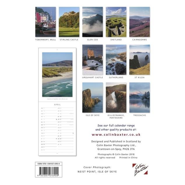 Portraits of Scotland Slim Calendar, Scotland by Calendars