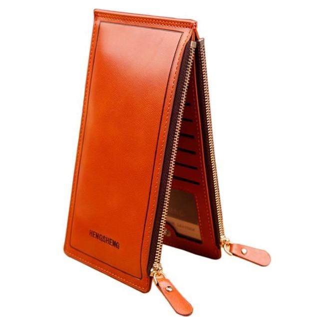 Women Long Wallet Zipper Pocket Card Holder Clutch Bifold Slim Purse Coin