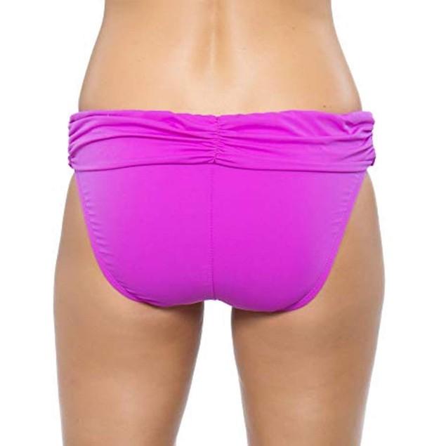Athena - Cabana Solids Banded Bikini Bottom SZ: 8