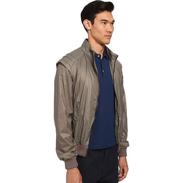 Vivienne Westwood Men's Wadded Nylon Armour Jacket Khaki 54 (US 42.5)