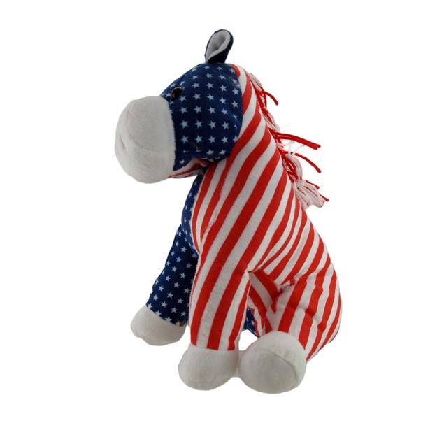 Usa Flag Democrat Donkey Election Plush Plush Animal Toys
