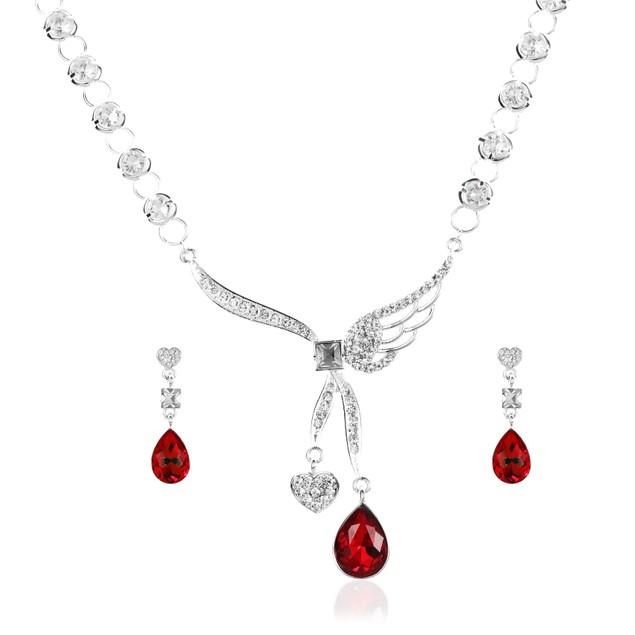 Angel Heart Necklace Set