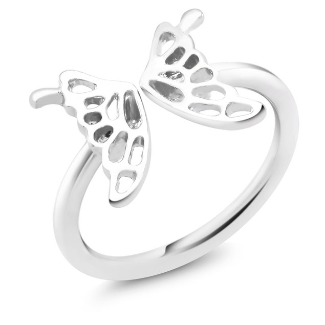 Playful Butterfly Ring