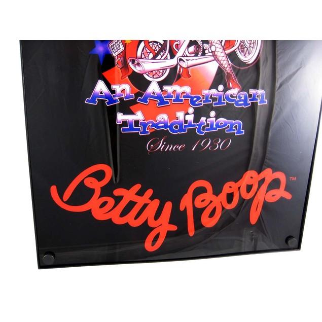 Biker Betty Boop American Tradition Neon Light Box Accent Lamps