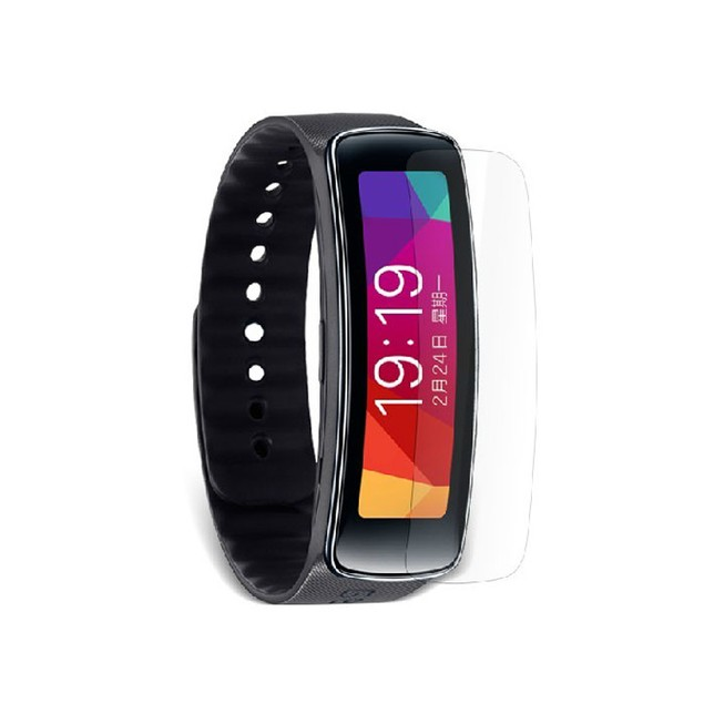 2-Pack HD Screen Protector Film Guard For Samsung Gear Fit Smart Watch